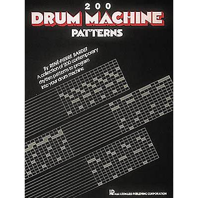 Hal Leonard 200 Drum Machine Patterns Book