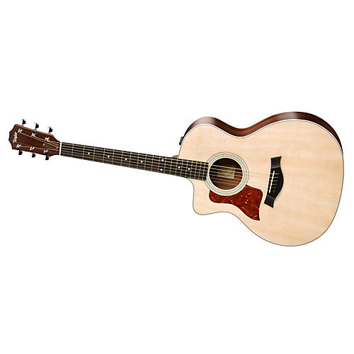 Taylor 200 Series 2014 214ce-L  Grand Auditorium Left-Handed Acoustic-Electric Guitar