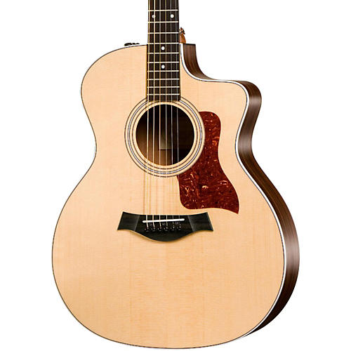 taylor 200 series 214ce grand auditorium acoustic electric guitar musician 39 s friend. Black Bedroom Furniture Sets. Home Design Ideas