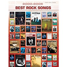Alfred 2000-2005 Best Rock Songs (2000-2005 Best Songs) Piano/Vocal/Guitar Songbook Series Softcover