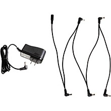 Throne Room Pedals 2000mA 9V DC Power Supply Kit with 5 Plug Daisy Chain Cable