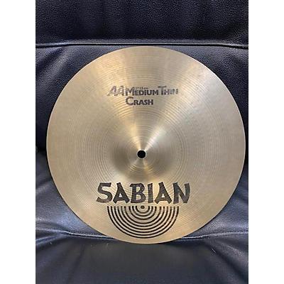 Sabian 2000s 14in AA Medium Thin Crash Cymbal