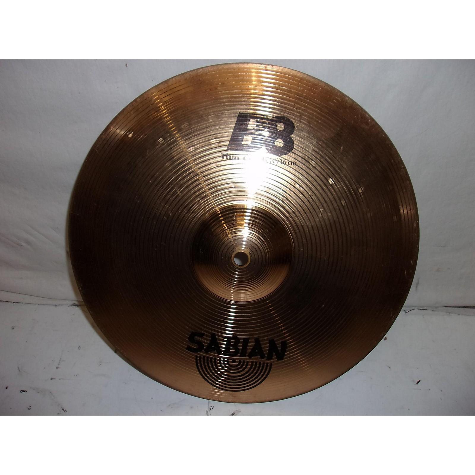 Sabian 2000s 14in B8 Thin Crash Cymbal