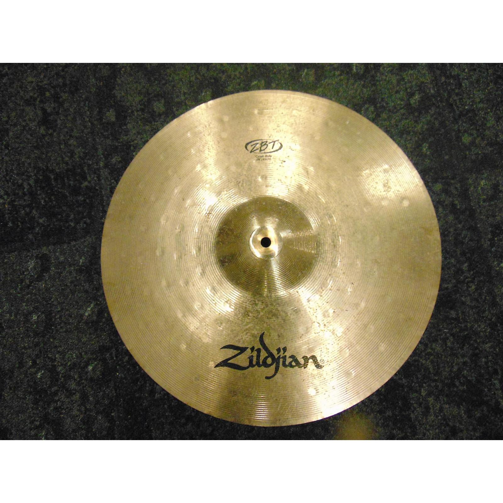 Zildjian 2000s 18in ZBT Crash Ride Cymbal