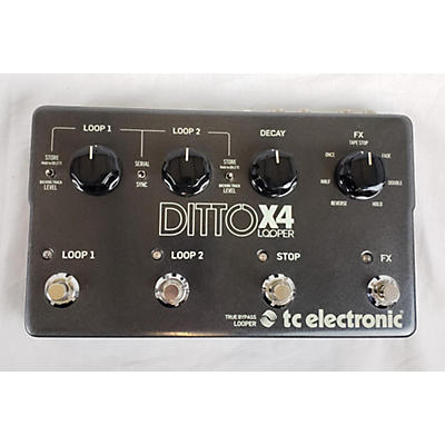 TC Electronic 2000s Ditto X4 Looper Pedal