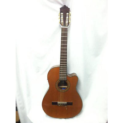 Giannini 2000s GWNFLE Classical Acoustic Electric Guitar