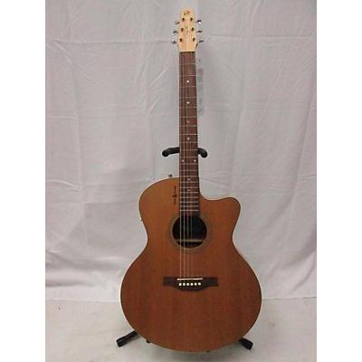 Seagull 2000s Natural Elements CW Mini Jumbo SG Acoustic Electric Guitar