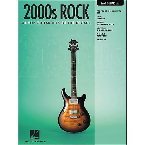 Hal Leonard 2000s Rock Easy Guitar Tab