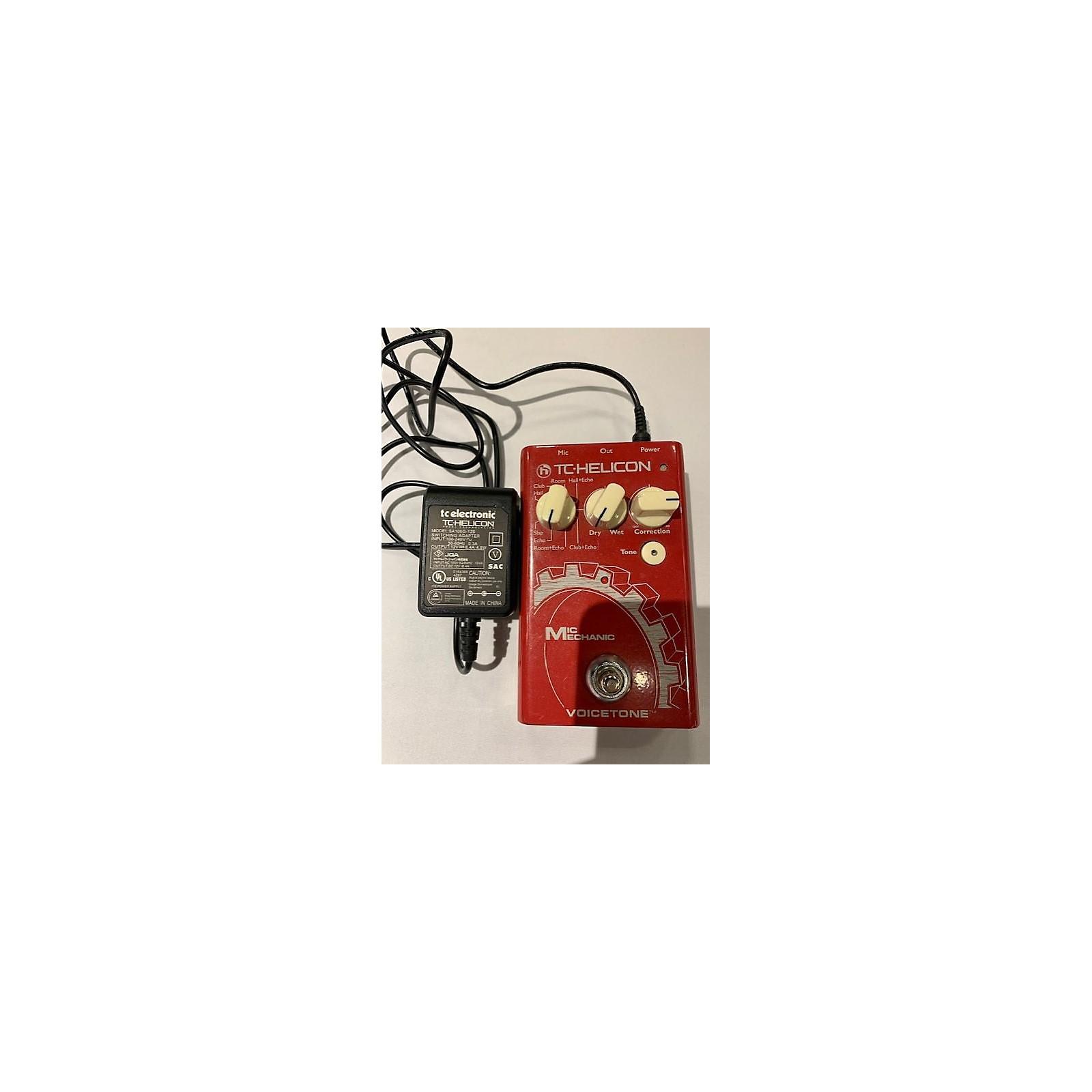TC Helicon 2000s VoiceTone Mic Mechanic Vocal Processor