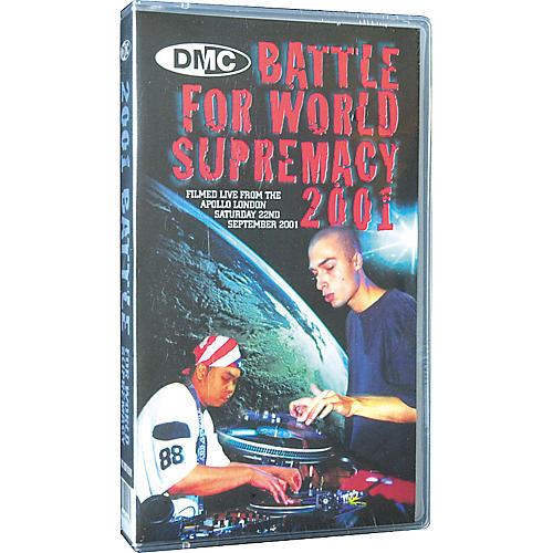 DMC 2001 Battle for World Supremacy VHS Video