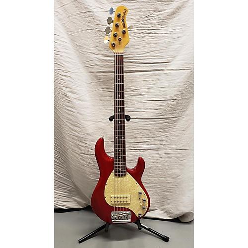 Ernie Ball Music Man 2001 Stingray 5 H Electric Bass Guitar Red