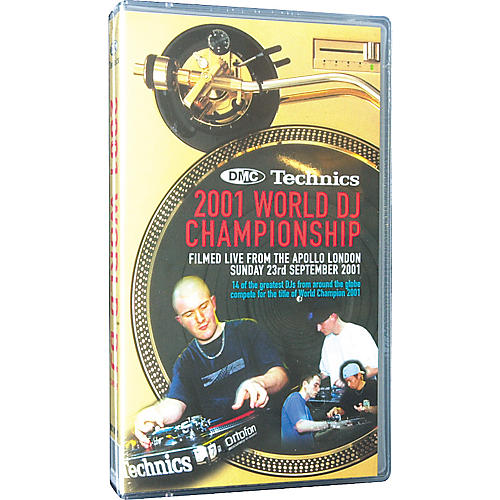 DMC 2001 World DJ Championship VHS Video