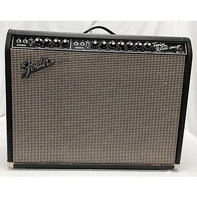 Fender 2002 1965 Reissue Twin Reverb 85W 2x12 Tube Guitar Combo Amp