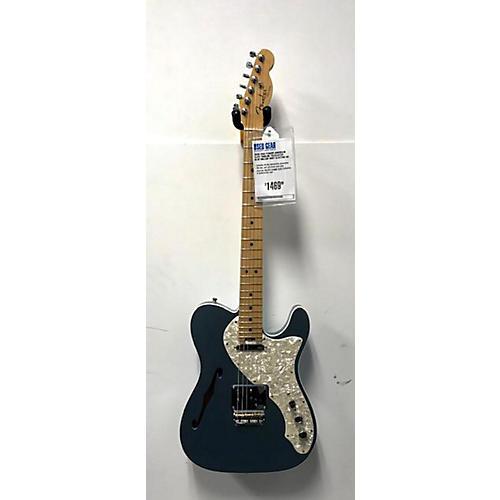 Fender 2002 American Elite Thinline Telecaster Hollow Body Electric Guitar Blue