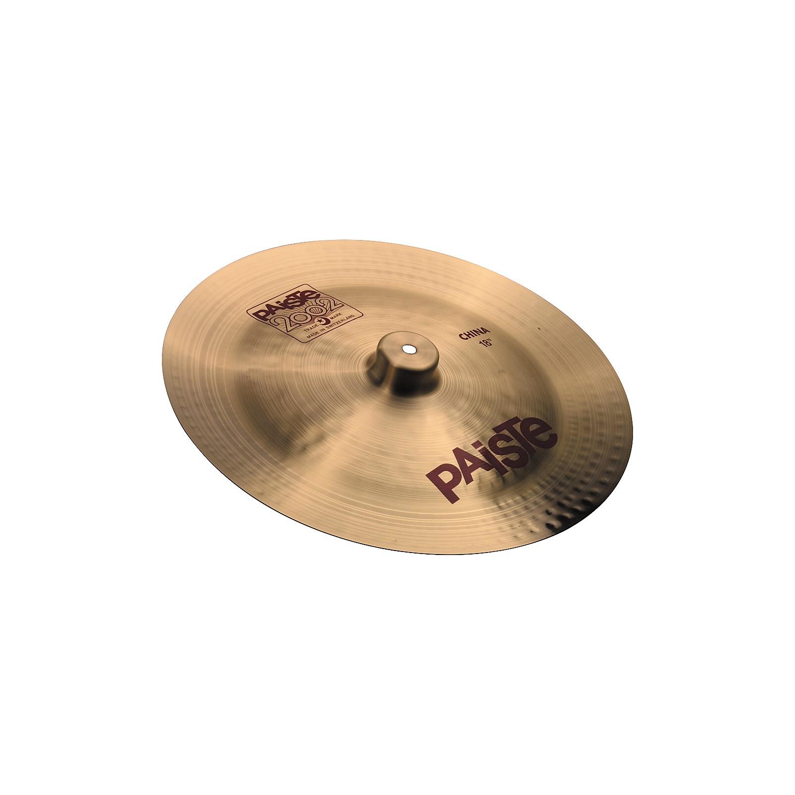 Paiste 2002 China Cymbal