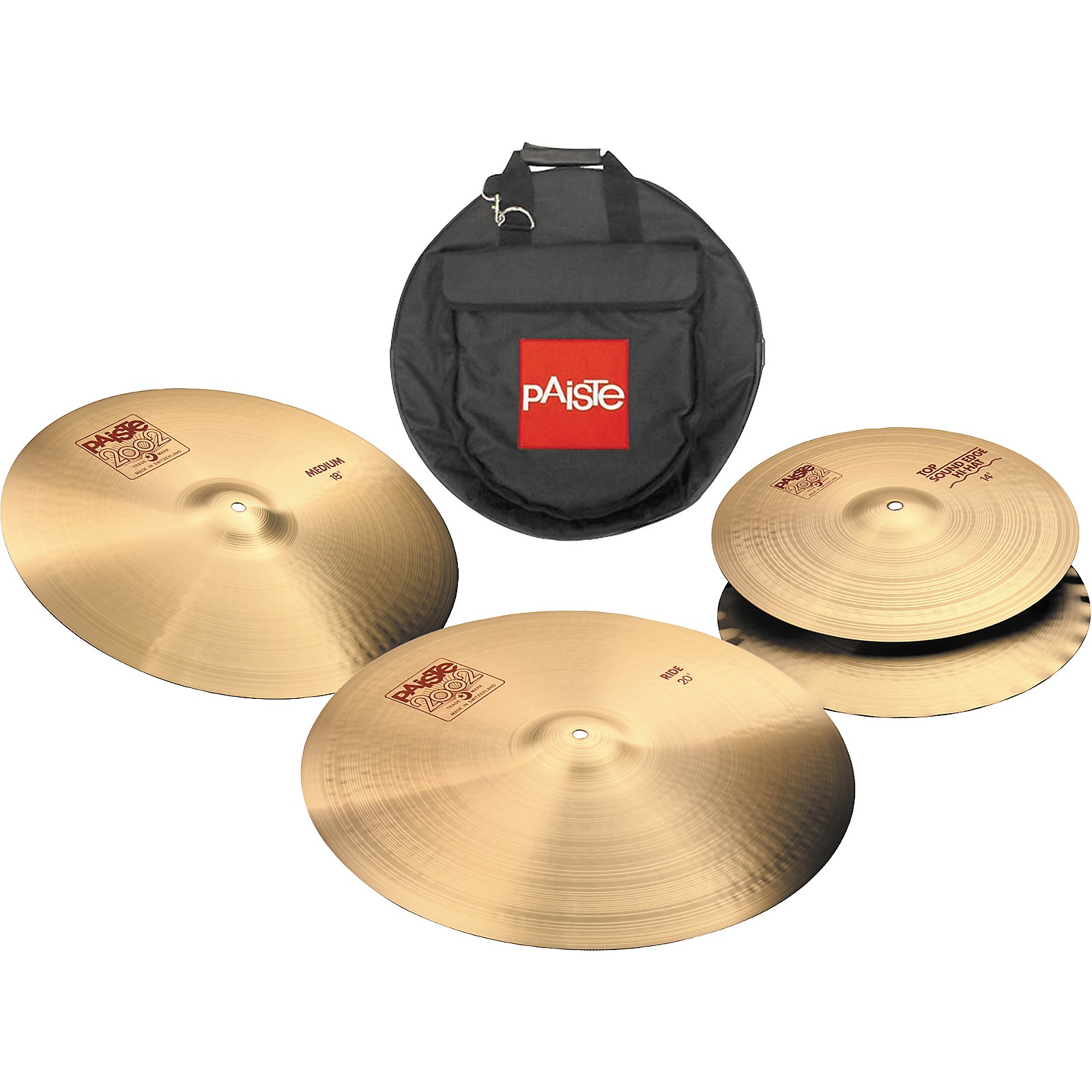 Paiste 2002 Cymbal Pack