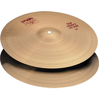 Paiste 2002 Heavy Hi-Hat (Pair)