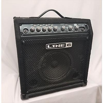 Line 6 2002 LD15 Lowdown 15W 1X8 Bass Combo Amp