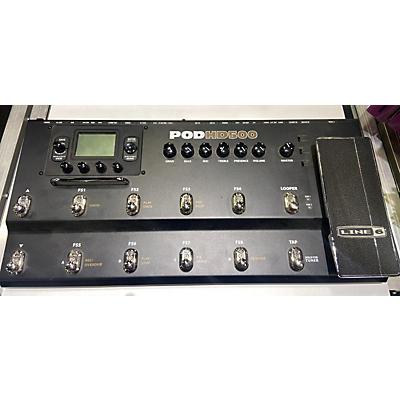 Line 6 2002 Pod HD500 Amp Modeler Effect Processor