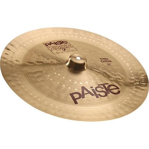 58c1dffc7a27 Paiste 2002 Thin China Cymbal