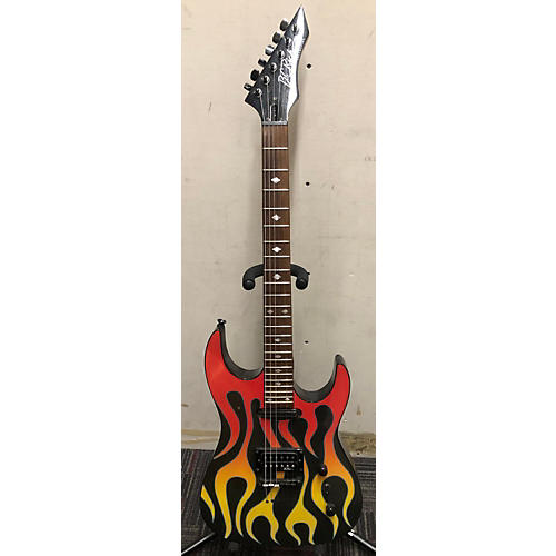 B.C. Rich 2003 Torchy Solid Body Electric Guitar Flame