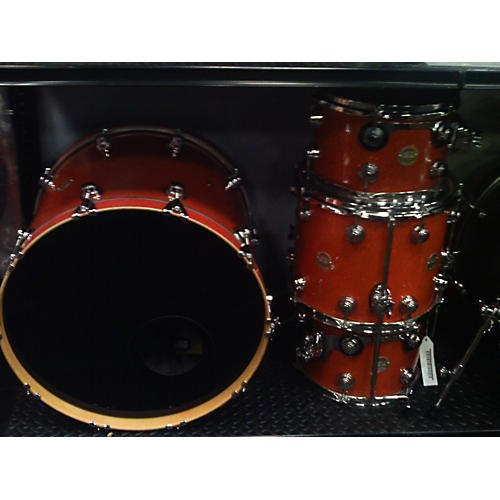 DW 2004 Collector's Series Drum Kit Candy Tangerine