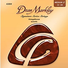 Dean Markley 2004 Vintage Bronze, Medium Light, 12-54