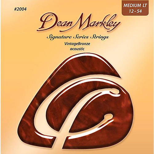 Dean Markley 2004 Vintage Bronze, Medium Light, 12-54
