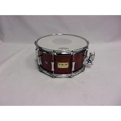 Pork Pie USA 2006 7X14 Custom Maple Snare Drum