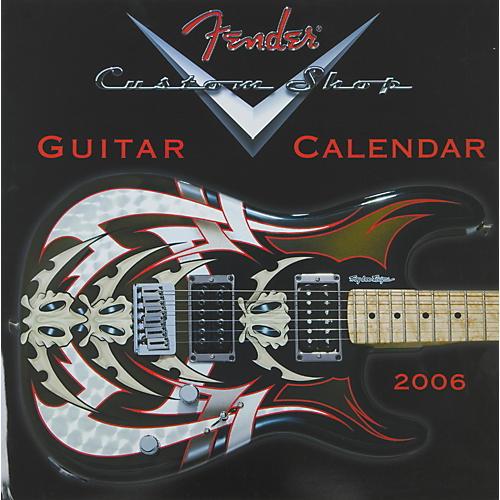 Fender 2006 Fender Custom Shop Guitar Wall Calendar