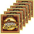 Ernie Ball 2008 Earthwood 80/20 Bronze Rock and Blues Acoustic Guitar Strings 6 Pack thumbnail