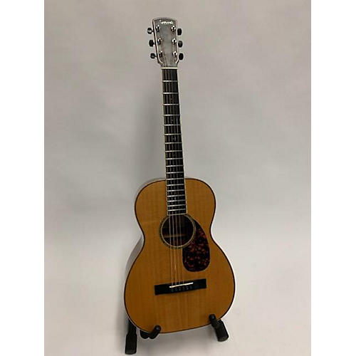 Larrivee 2008 P09K PARLOR Acoustic Guitar QUILTED KOA