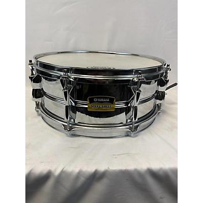 Yamaha 2010 5.5X14 Steel Shell Snare Drum
