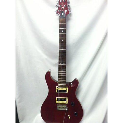 PRS 2010 CM4 SE Custom 24 Solid Body Electric Guitar Crimson Red Trans