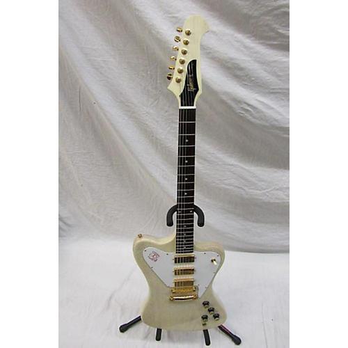 Gibson 2010 Custom Firebird Non-Reverse VII Solid Body Electric Guitar Vintage White