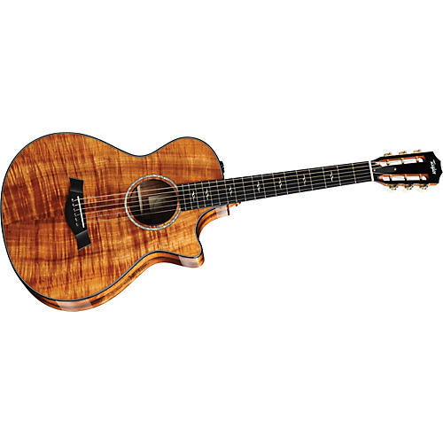 Taylor 2010 Spring Limited Edition 12-Fret Grand Concert Acoustic-Electric Guitar