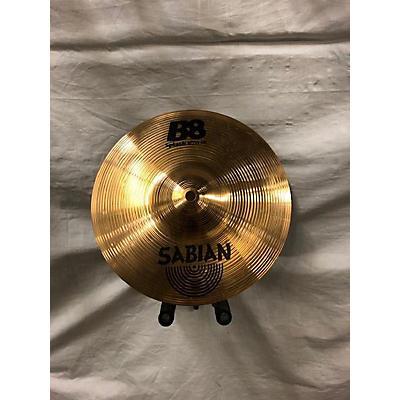 Sabian 2010s 10in B8 Splash Cymbal