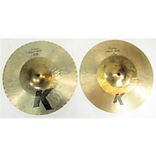 Zildjian 2010s 13.25in K Custom Hybrid Hi Hat Top Cymbal