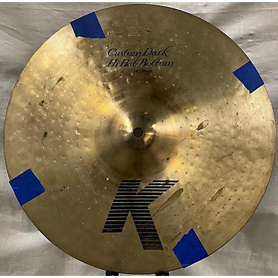 Zildjian 2010s 14in K Custom Dark Hi Hat Pair Cymbal