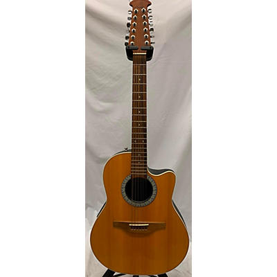 Ovation 2010s 6751 Std Balladeer 12 String AE 12 String Acoustic Electric Guitar