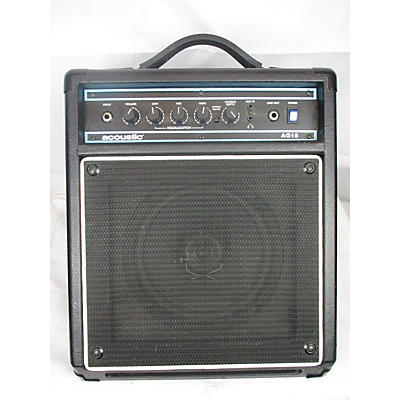 Acoustic 2010s AG15 15W 1X8 Acoustic Guitar Combo Amp