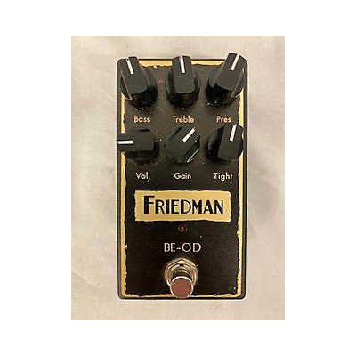 Friedman 2010s BE-OD Effect Pedal