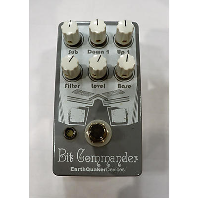 Earthquaker Devices 2010s Bit Commander Octave Synth Effect Pedal