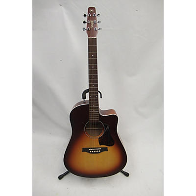 Seagull 2010s Entourage Rustic Cutaway Acoustic Electric Guitar