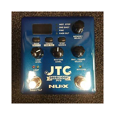 NUX 2010s JTC DRUM AND LOOP PRO Pedal