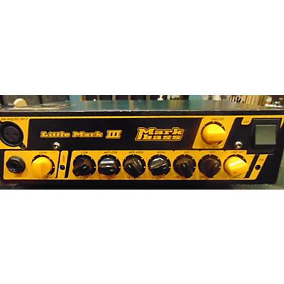 Markbass 2010s Little Mark III 500W Bass Amp Head