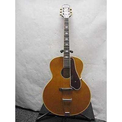 Epiphone 2010s Masterbilt De Luxe VN Acoustic Electric Guitar
