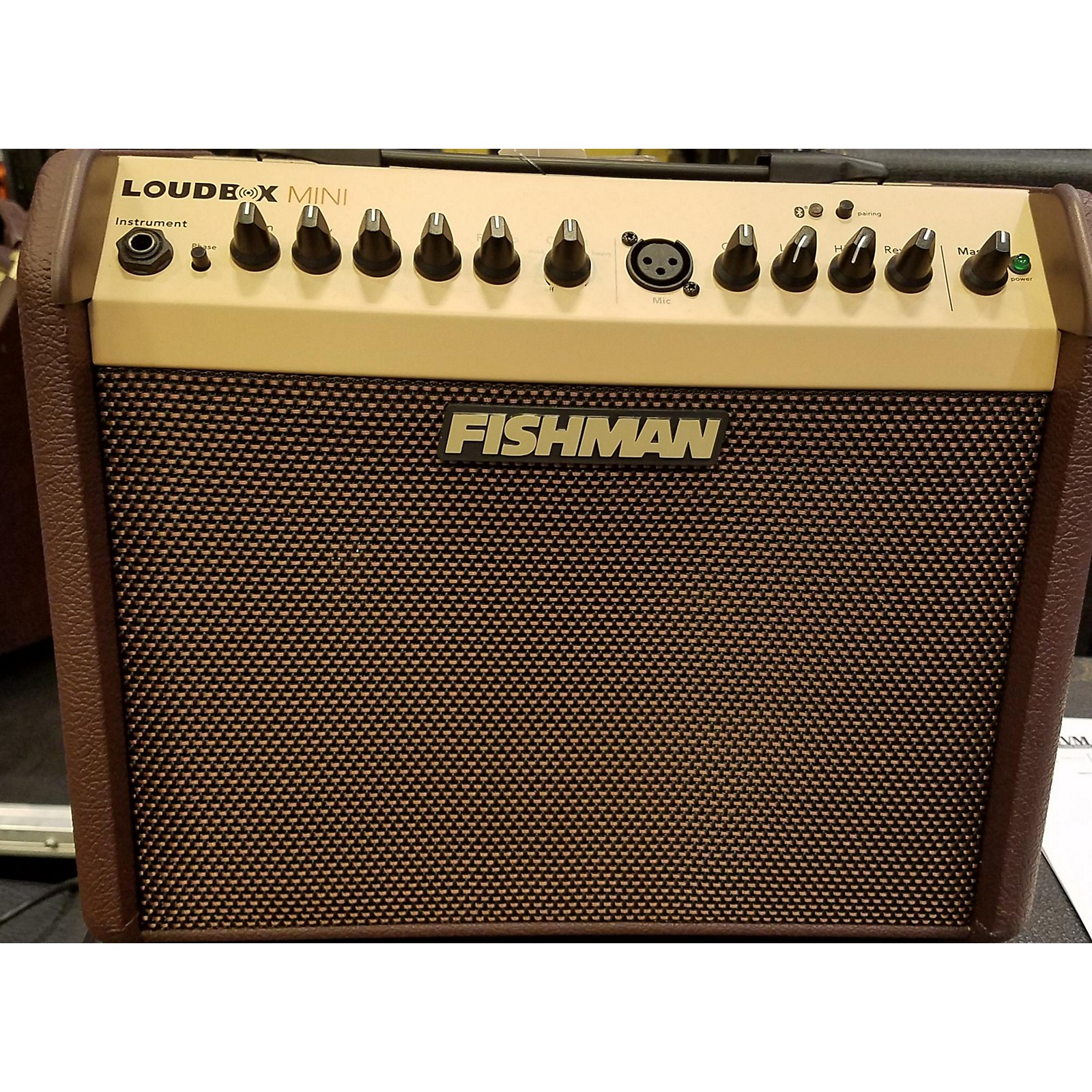 Fishman 2010s PROLBX500 Loudbox Mini Acoustic Guitar Combo Amp