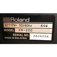 Roland 2010s Pm200 Keyboard Amp