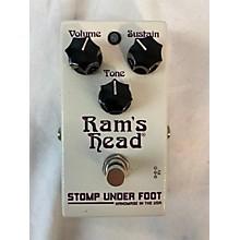 Stomp Under Foot 2010s Ram's Head Effect Pedal